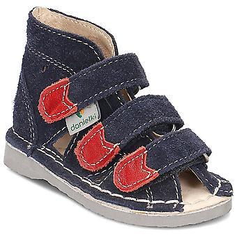 Danielki S104 S104GRANAT universal summer infants shoes