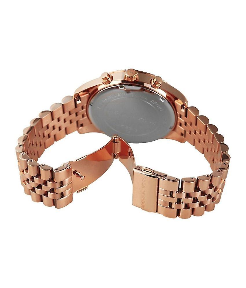 Michael Kors Mesdames Lexington Chronograph Watch or Rose Bracelet cadran MK8313