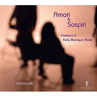 Sances / Anthonello - Amor & Sospiri-Leidenschaften [CD] USA import