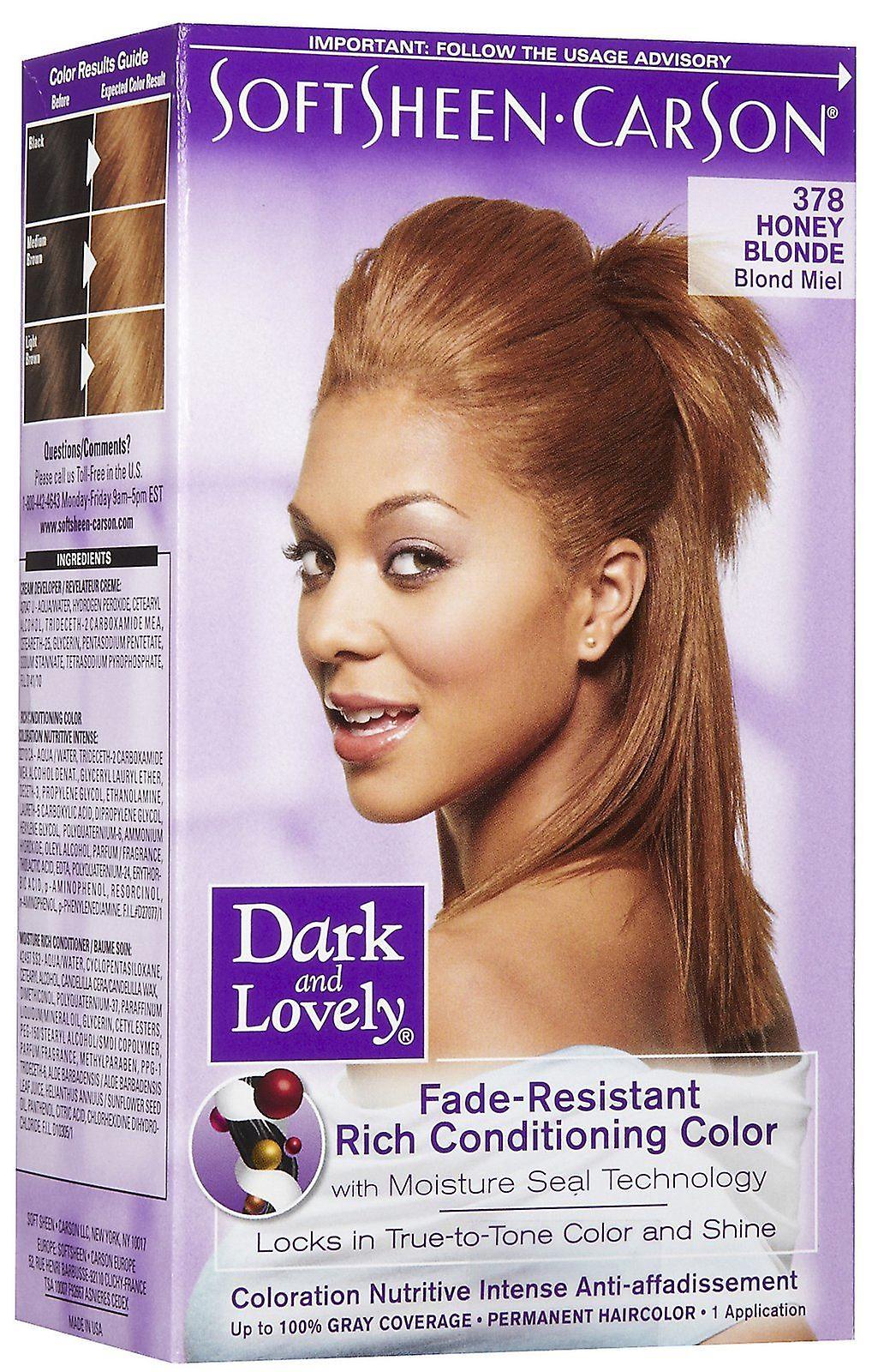 Dark & Lovely Conditioning Color Honey Blonde 378