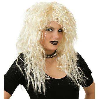 Gina blonda Longhair rocker mireasa bucle