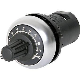 Eaton M22S-R10K enda Vrid rotary potten Mono 0,5 W 10 kΩ 1 dator