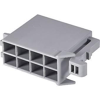 TE Connectivity Buchse Gehäuse - Kabel J-P-T Gesamtzahl der Stifte 8 Kontakt Abstand: 6 mm 964408-1 1 PC