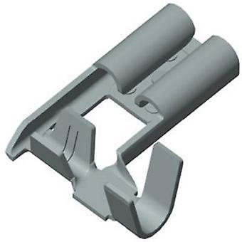 Vogt Verbindungstechnik 380205.67 Klinge Buchse Stecker Breite: 4,8 mm Stecker Stärke: 0,5 mm 90 ° nicht isoliert Metall 1 PC