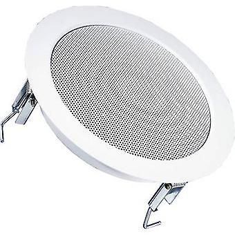 PA recessed speaker Visaton DL 18/2 70 W 100 V White 1 pc(s)