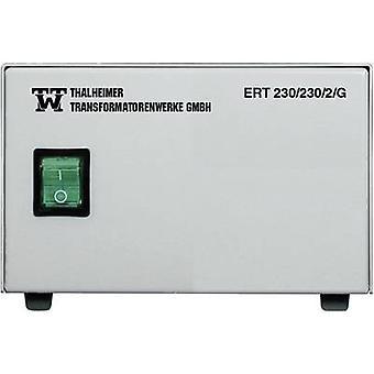 Thalheimer ERT 230/230/10G, 2300VA Medical Grade Isolation Transformer, 230Vac, EN 60601-1, IP20