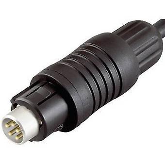 Bağlayıcı 99-4905-00-03-1 Serisi 430 Alt Minyatür Dairesel Konnektör Nominal akım (detaylar): 3 A