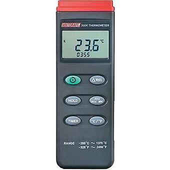 VOLTCRAFT K204 Thermometer -200 up to +1370 °C Sensor type K Data logger
