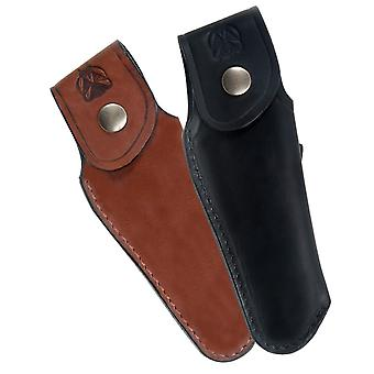 Finest quality leather sheath for Laguiole - Color - Black Direct from France