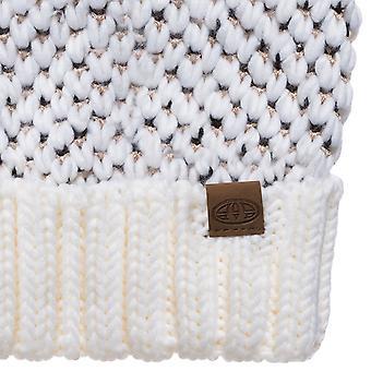 Animale Womens Brielle caldo inverno maglia Bobble Beanie cappello - unica taglia