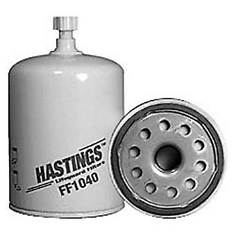 Hastings FF1040 Fuel-WaterSeparator Spin-On Filter with Drain