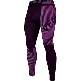 Venum No-Gi 2.0 MMA Compression Spats - Black/Purple