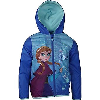 Girls RH1507 Disney Frozen Lightweight Hooded Jacket with Bag Size: 4-8 Years