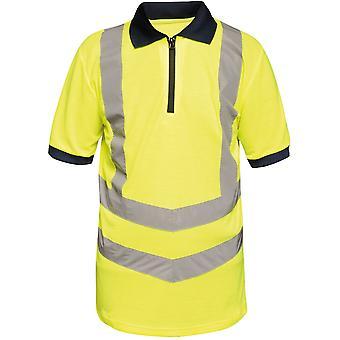 Regatta Herren Hallo Vis Pro schnell trocken Feuchtigkeitstransport arbeiten Polo-Shirt