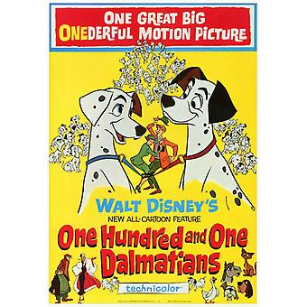 101 Dalmatians Movie Poster (11 x 17)