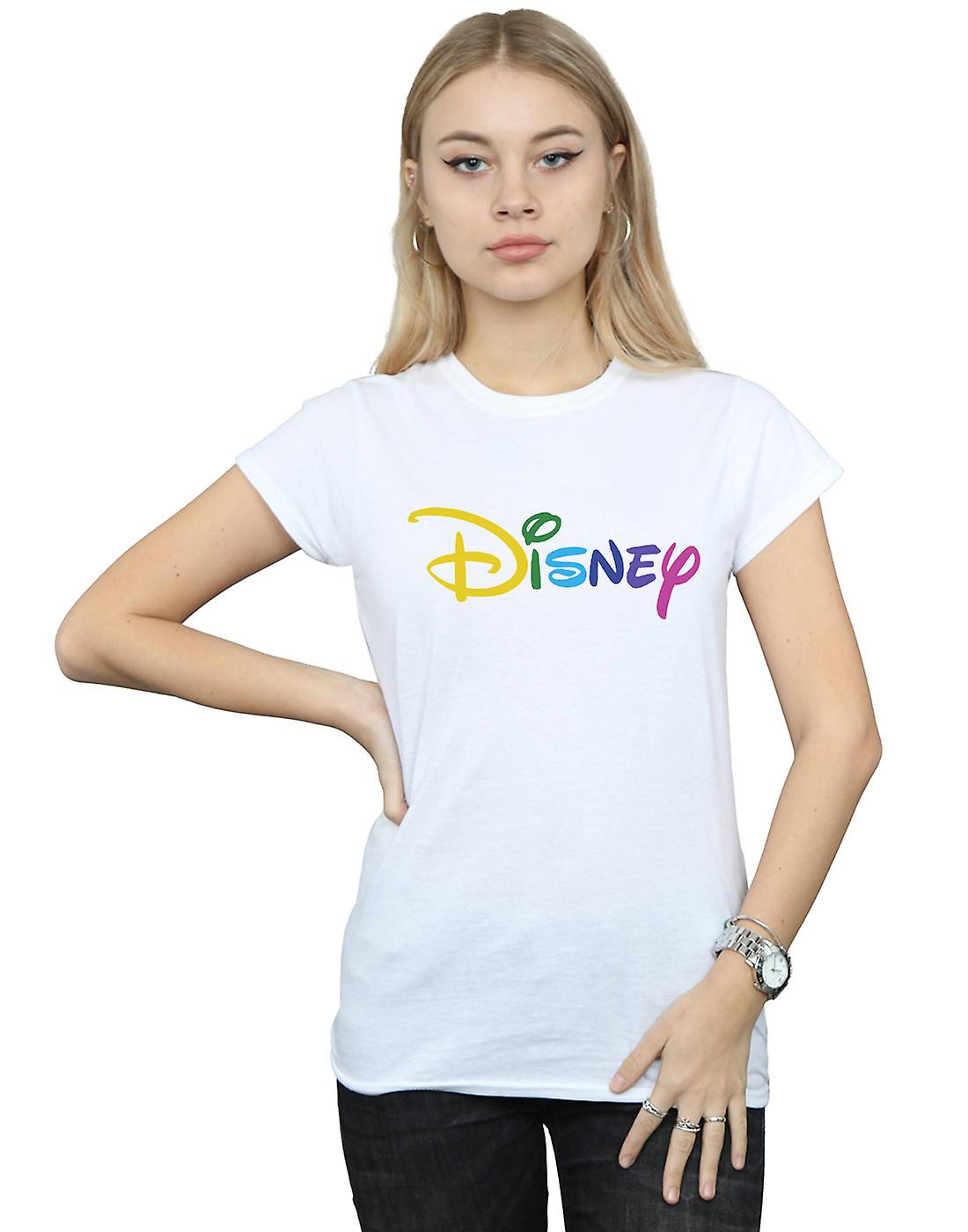 Disney Women's Colour Logo T-Shirt