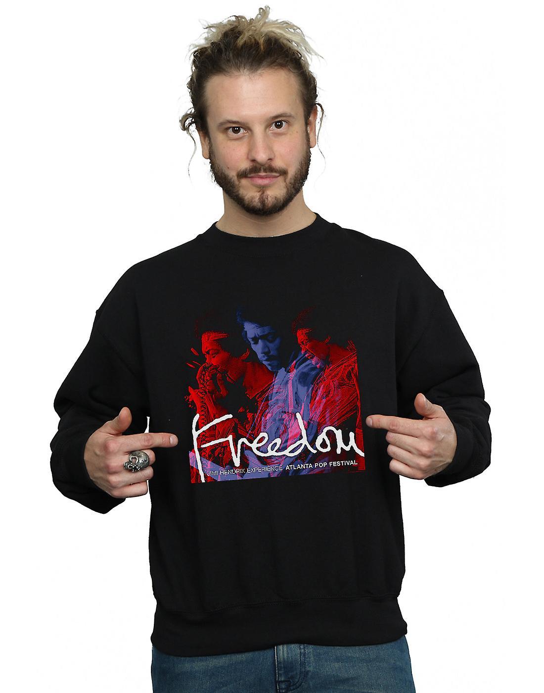Jimi Hendrix Men's Atlanta Freedom Sweatshirt