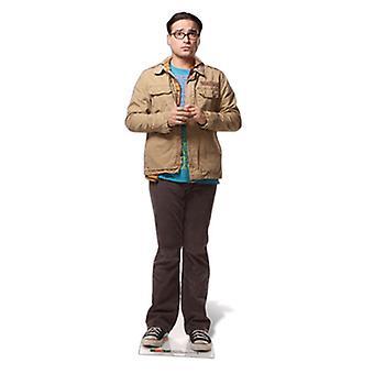Dr Leonard Hofstadter Lifesize Pahvi Cutout / Standee (Big Bang Theory)