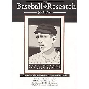 The Baseball Research Journal (Brj), Volume 22