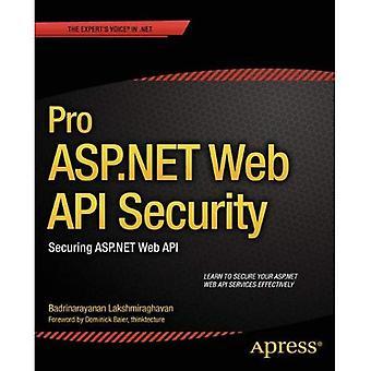 Sicurezza Pro ASP.NET Web API: Protezione ASP.NET Web API