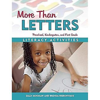 Meer dan Letters: Geletterdheid activiteiten voor voorschoolse, kleuterschool en eerste leerjaar
