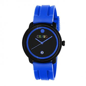 Crayo Fresh Unisex Watch w/Date - Blue