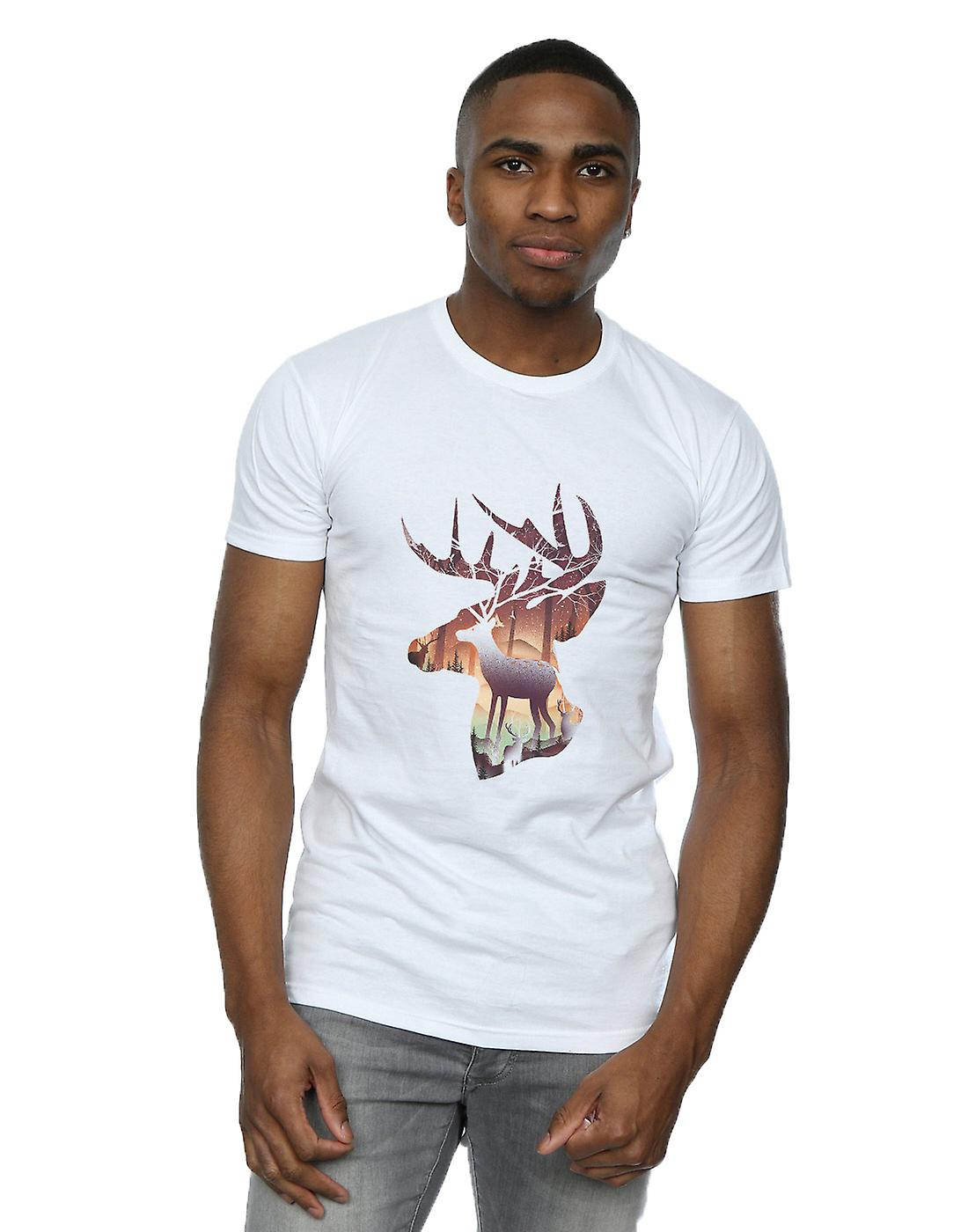 Dan Dingeroz Men's Deer Forest T-Shirt