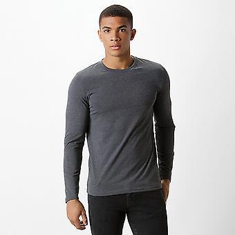 Kustom Kit Mens Long Sleeve Superwash 60c Fashion Fit Tee
