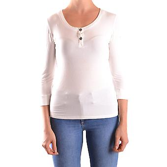 Costume National Ezbc066040 Women&s White Cotton T-paita