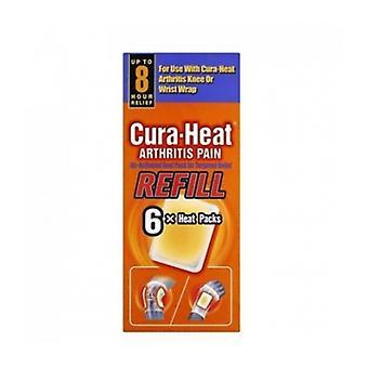 Cura-Heat nivel tulehdus Pain Refill 6