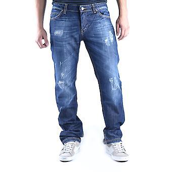 Frankie Morello Ezbc167073 Men's Blue Denim Jeans