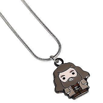Harry Potter hopeoitu Hagrid Chibi kaula koru