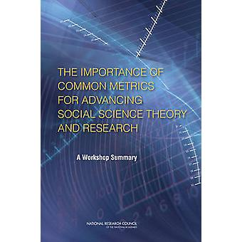 The Importance of Common Metrics for Advancing Social Science Theory