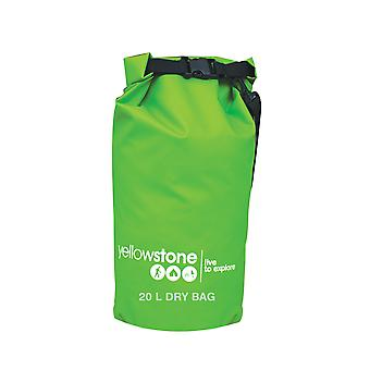 20 Litre PVC Waterproof Dry Bag Green