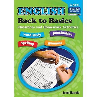 Engelse huiswerk - terug naar de Basics activiteiten voor klasse en Home - Bk. E