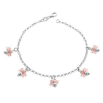 Bracelet 19Cm Pink