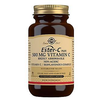 Solgar Ester-C Plus Vitamin C 500mg Vegicaps 250 (1049)