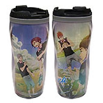 Mug - Free! - New Group Playing with Water Tumbler Anime Licensed ge69615