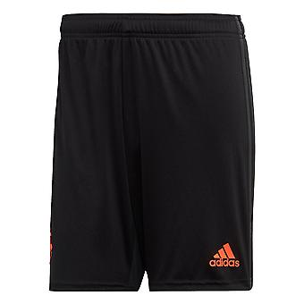 Adidas Manchester United 2019/20 Mens terceiro futebol curto preto