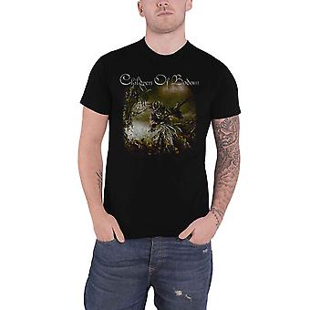 Children Of Bodom T Shirt Relentless Band Logo new Official Mens Black