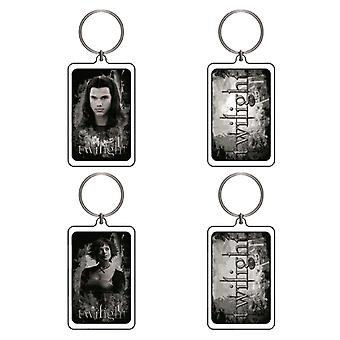 Twilight Lucite Keychain C&D (Jacob & Alice BTS)