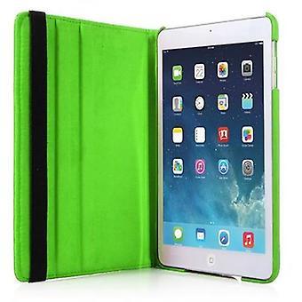 Cadorabo - > Apple iPad AIR (5ª geração) < Caixa de estilo de livro com função de suporte 360° - Fone de para-choque de capa de caixa em BLATT GREEN
