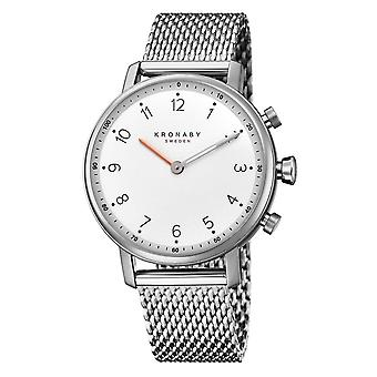 Kronaby S0793-1 Women's Nord Smartwatch With Mesh Bracelet