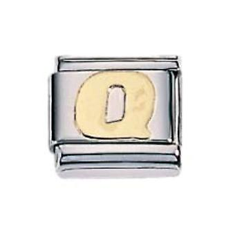 ZOPPINI S.Steel Letter-Q Charm