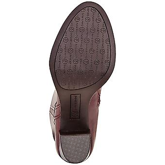 Giani Bernini Womens Rozario Leather Closed Toe Knee High Riding Boots
