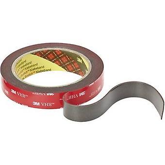3M VHB™ 4611F 7000072168 Fita adesiva dupla vHB™ 4611F Cinza (L x W) 3 m x 19 mm 3 m
