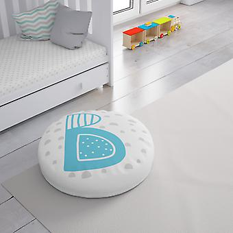 Meesoz Floor Cushion - Letter Boy - B