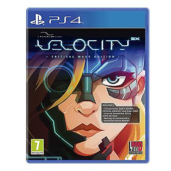 Velocity 2X Critical Mass Edition PS4 Game (GCAM Rating English/Arabic Box)