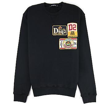 Dsquared2 Beer Logo Sweater Black