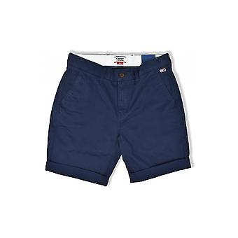 Tommy Jeans Essential Chino Shorts (Black Iris)